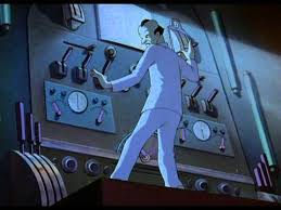 The Mad Scientist. Fleischer Superman cartoons. 1941